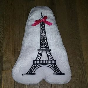 White Eiffel Tower Pillow🗼